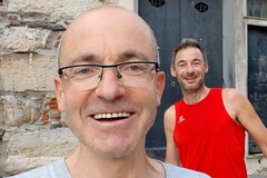 Sightrunning in Genova 10 km private tour