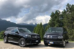 Transfer from Venice Marco Polo airport or Mestre station to Cortina dAmpez