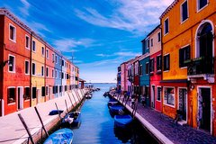 Panoramic cruise of the Venice lagoon and islands and visit of Murano