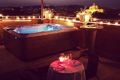 Private romantic dinner overlooking Rome