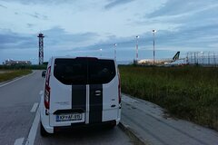 Transfer from Venice Airport to Trieste