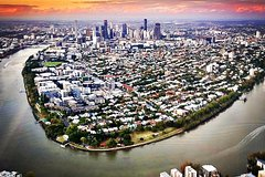 Private Brisbane City Helicopter Tour