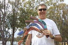 Learn to throw a real Aborignal returning boomerang in Brisbane, Australia