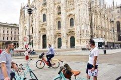 Milan Highlights Small-Group Bike Tour