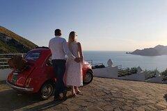 Sunset Photo Tour with vintage Fiat 500