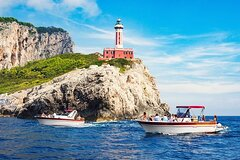 Capri Full-Day Small-Group Boat Tour from Sorrento