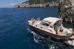 Capri Tour from Sorrento - 38ft Motorboat APREAMARE