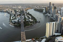 Brisbane City Private Helicopter Tour for Two