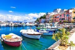 Private tour of the islands of Ischia and Procida on a luxury yacht