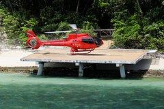 Fly to Green Island - Cruise Return