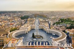 4 Days Guided Tour of Rome Eternal City All Inclusive by Bus from Milan