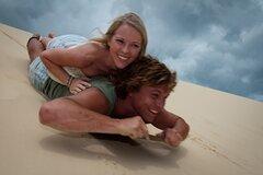 Moreton Island Snorkel and Sandboarding 4WD Day Trip from Brisbane