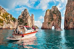 Bella Capri with Blue Grotto and light lunch with drinks