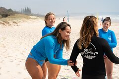 Half Day Surf Getaway for Women on the Gold Coast