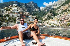 Full-Day Cruise Positano and Capri with Lunch