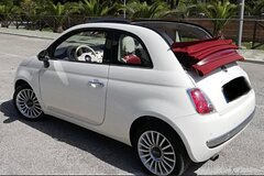 Tour of the Amalfi Coast by Fiat 500 Cabrio from Sorrento