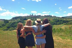 From Rome: 18-39s Tuscan Wine Tour and San Gimignano