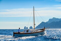One Day Private Boat Tour of Capri with Lunch
