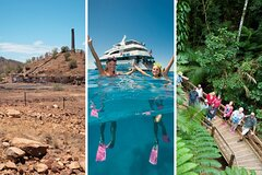 3 Day Great Barrier Reef, Daintree Rainforest and Outback Chillagoe Tour