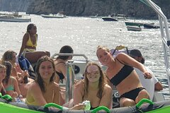 Capri boat tour and water sports
