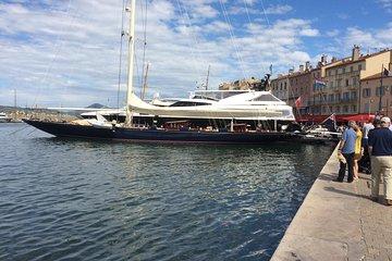 Private full day trip to St Maxime and St Tropez green boat from NICE