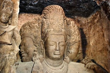 Mumbai Elephanta Caves Private Half-Day Tour including Guide