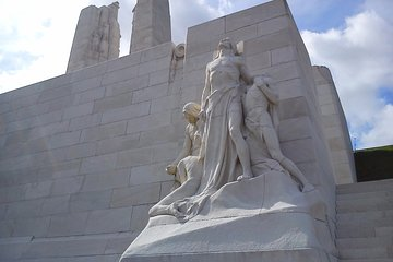 Vimy and Flanders Fields Canadian Battlefield Tour from Lille