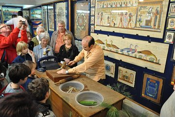 Save 20.02%! Papyrus Manufacturing Tour and Papyrus Making Demonstration