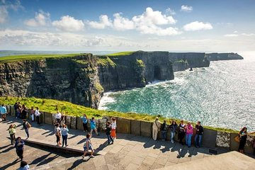 Cliffs of Moher, Burren and Wild Atlantic Way day tour from Galway city
