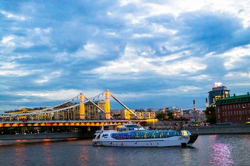 Moscow River Cruise with Free Dessert and Coffee on Private Tour