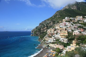 Amalfi coast and Pompeii, with Positano and Sorrento