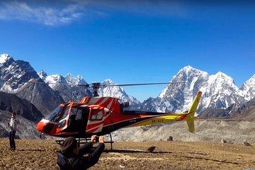 Everest base camp Landing Helicopter Tour
