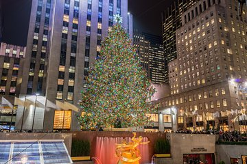 Rockefeller Center Holiday Tree Lighting Gala with Private Viewing Area