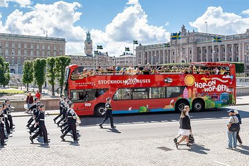Red Sightseeing Stockholm Hop-On Hop-Off Bus