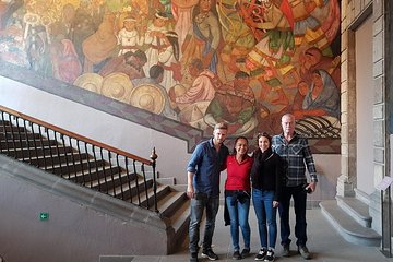 Mexico City Mural Art Small-Group Walking Tour Tickets