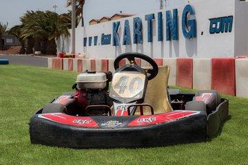8-Minute Gran Karting Experience in Lanzarote