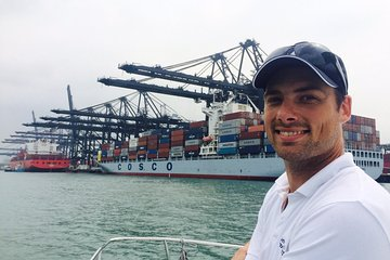 Hong Kong Container Port Boat Tour with BBQ Lunch