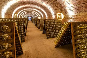 Schlumberger Sparkling Wine Cellar World Entrance Ticket in Vienna