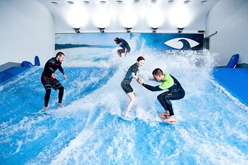 Bodyboarding and Surfing at Surf Arena