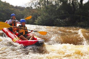 White-Water Kayaking on the Yarra River