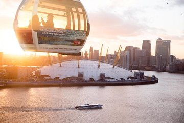 Emirates Airline Cable Car and Thames Clippers River Roamer: Hop On Hop Off Pass