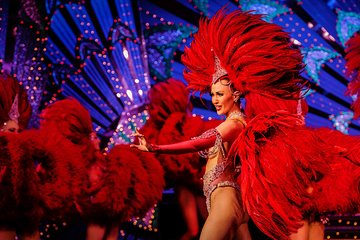 Moulin Rouge Paris Dinner and Show Ticket
