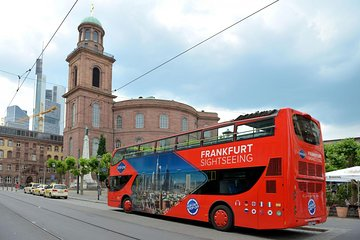 Frankfurt Hop-On Hop-Off Tour Red Bus Tours