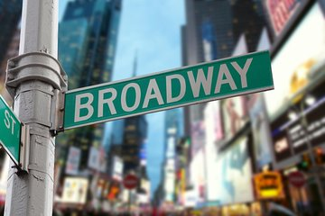 Broadway Theaters and Times Square with a Broadway Actor