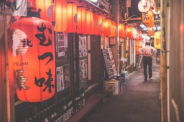 Tokyo by Night: Japanese Food Small Group or Private Tour