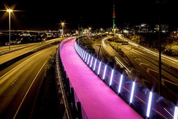The City Lights: a unique electric bike tour of Auckland by night!