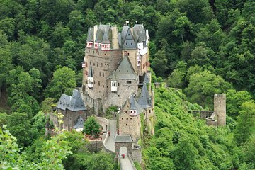 Frankfurt Day trip to Eltz Castle Tour with Rhine River Dinner