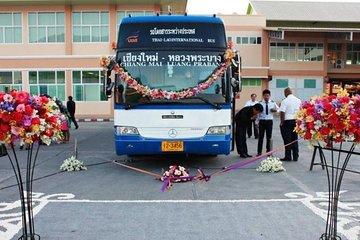 Sleeping Bus to Huay Xai, Chiang Rai, Chiang Mai Thailand including hotel pickup