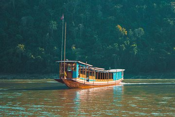 Slow Boat ticket to Pakbeng - Houay xay