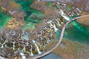 Private transfer from Split to Zagreb with Plitvice Lakes Tour